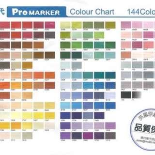英國理查斯特麥克筆第二代36色 LETRASET Pro Marker
