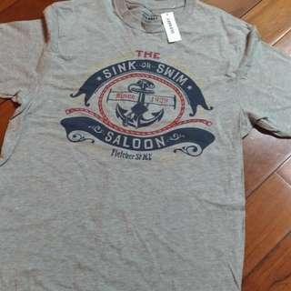 美國品牌 Old Navy 海軍風 短T
