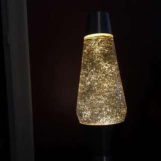 GLITTER LAVA LAMP