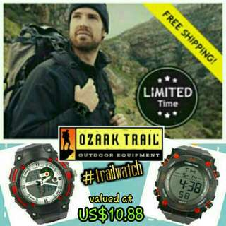25% OFF🇺🇸Authentic Ozark Trail Survival Watch