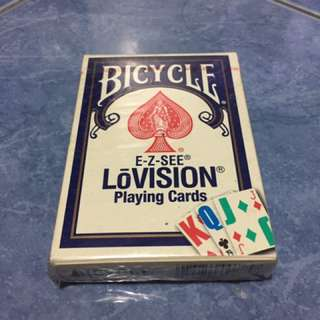 Bicycle Lovision playing cards (complete deck)