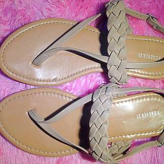 Brown F21 Sandal's.