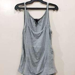 H&M Grey Sleeveless Top