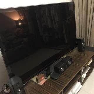"Samsung 55"" HD TV With Philips Surround Sound"