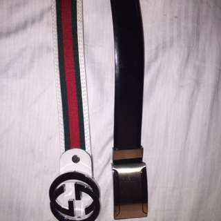 REAL Gucci Belt And Perry Ellis