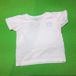 USED Set of 3 Garfield Baby Shirts