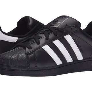 adidas Original Superstars all Black