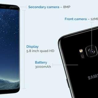 Brand New Samsung S8 Unlocked Black
