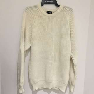 Oversized Cream Knit