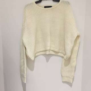 Glassons Cream Oversized Knit