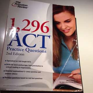 1296 ACT Practice Questions: 2nd Edition