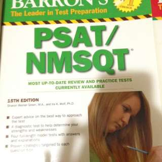PSAT/NMSQT: 15th Edition