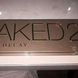 Naked 2 Eyeshadow Palette - Lightly Used