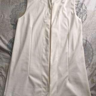 BNWOT Long Cotton Vest