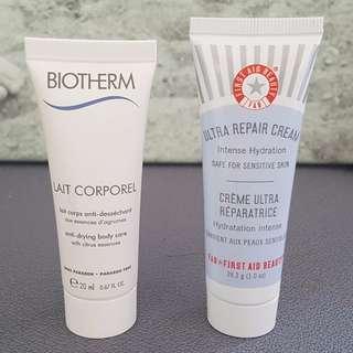 BRAND NEW UNUSED - Biotherm & Ultra Repair Cream First Aid Beauty Cream Moisturizer