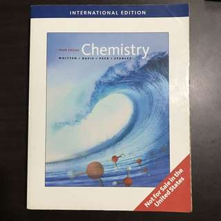 Chemistry by Whitten
