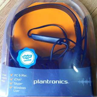 Plantronic Headphone With Extended Mic