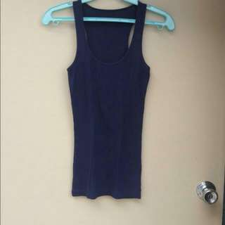 Navy Bue Sleeveless Fits S-M Php99
