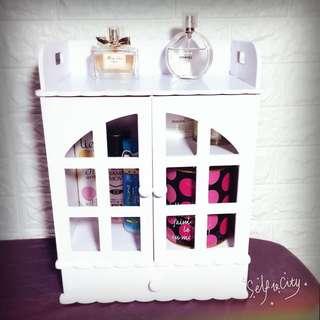公主風 化妝收納櫃 收納盒 置物櫃