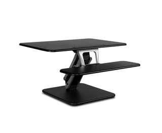 Height Adjustable Standing Desk 80CM - Black