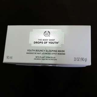 BodyShop - Drops Of Youth Bouncy Sleeping Mask (New)