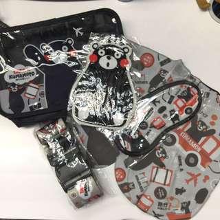 全新 熊本熊旅遊套裝(1 套4件)