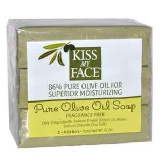 Kiss  My Face 橄欖皂 純橄欖油 成分單純 溫和潤膚 代購 現貨