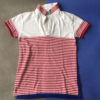 Slim Fit Polo Shirt bench