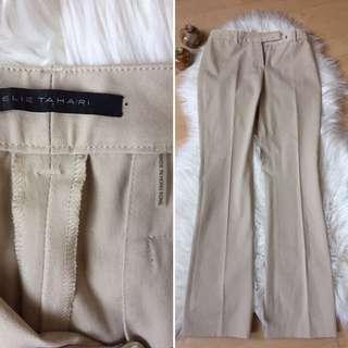 Eile Tahari Tan Dress Pants Sz 2