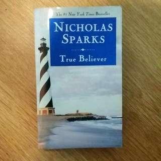 True Believer- Nicholas Sparks