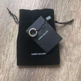 Karen Millen Silver Dress Ring