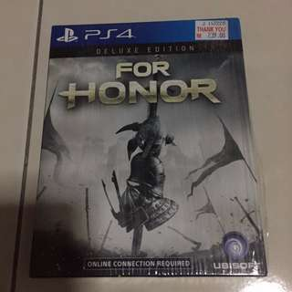 Sell or Swap! For Honor Deluxe Edition PS4 #FreePostage