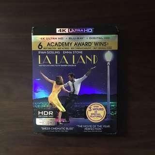 La La Land (4K Blu-Ray + Blu-Ray + Digital HD)