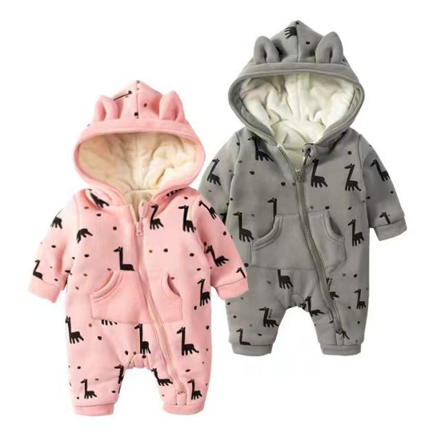 100% Cotton Baby Thick Jumpsuite