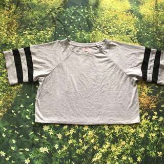 MESH STRIP CROP TOP