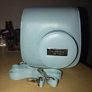 Blue Instax Mini 8 Case