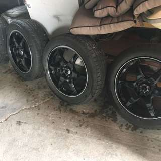 Rims With Tires