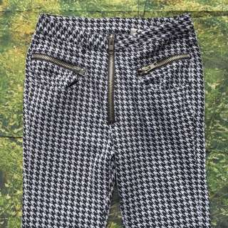 UNIF HOUNDSTOOTH PANTS