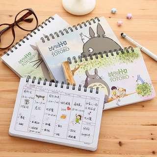 Totoro Planner Notebooks