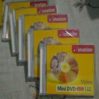 Imation Mini DVD-RW 5 discs