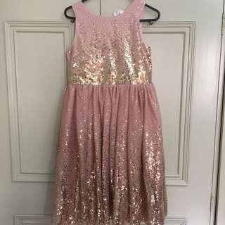 H&M Sequined Girls Dress