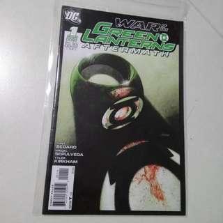 Green Lantern War Of The Green Lantern Aftermath Comic 1 Shot