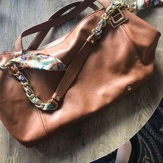 United Colours Of Benetton Light Brown Handbag