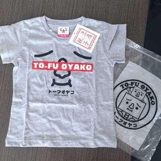 豆腐人 Tofu Oyako 童裝Tee Size 80-90