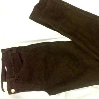 Hollister Low Rise Black Skinny Jeans