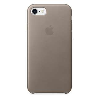 Original iPhone 7 Leather Case - Taupe