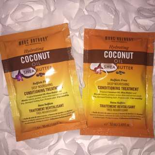 Marc Anthony Hydrating Coconut Oil & Shea Butter Conditioning Treatment