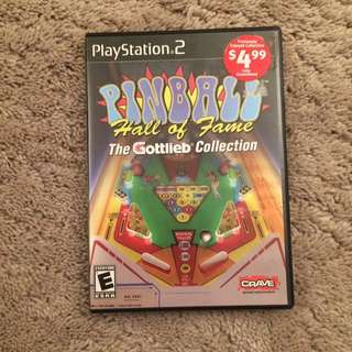 Pinball Collection For PS2