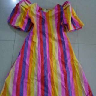 Filipiniana Dress For Girls 6-8 Yrs Old