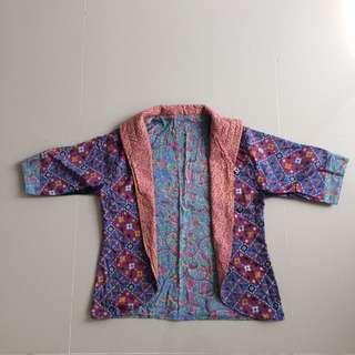 Two-sided batik
